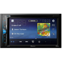 "Pioneer AVH-A101 2-DIN монитор 6,2"" c CD/DVD/DVD-Video/MP3/WMA/AAC/WAV/DivX/XviD/MP4/JPEG (на CD"